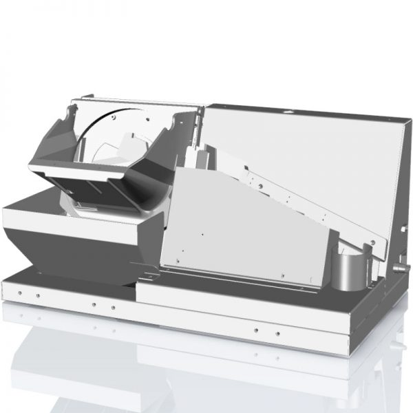 M100 coin counting and sorting module for integration into ATM coin recycler and coin deposit machines