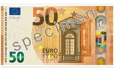 The new 50 Euro note is coming