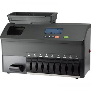 EvoSort M9 professional coin sorter for multiple currencies